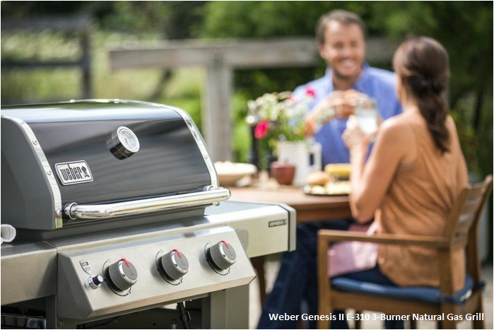 Weber Genesis II E-310 3-Burner Natural Gas Grill