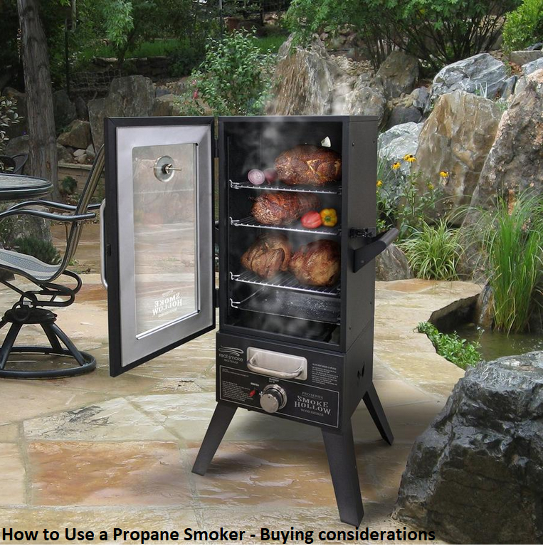 How to Use a Propane Smoker